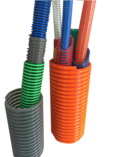 Corrugatal Surface PVC Suction Hose