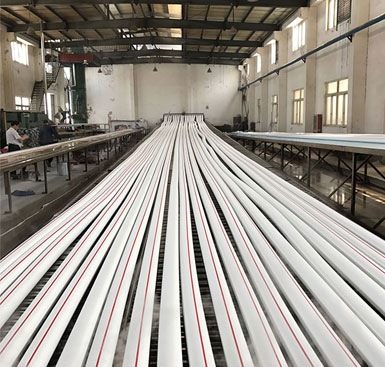 Production of Fire Hose